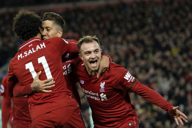 Firmino hat-trick takes Liverpool nine points clear with Arsenal thrashing