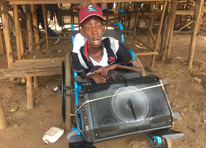 Being born disabled brought shame to my family, Gwaze tells his story through his music