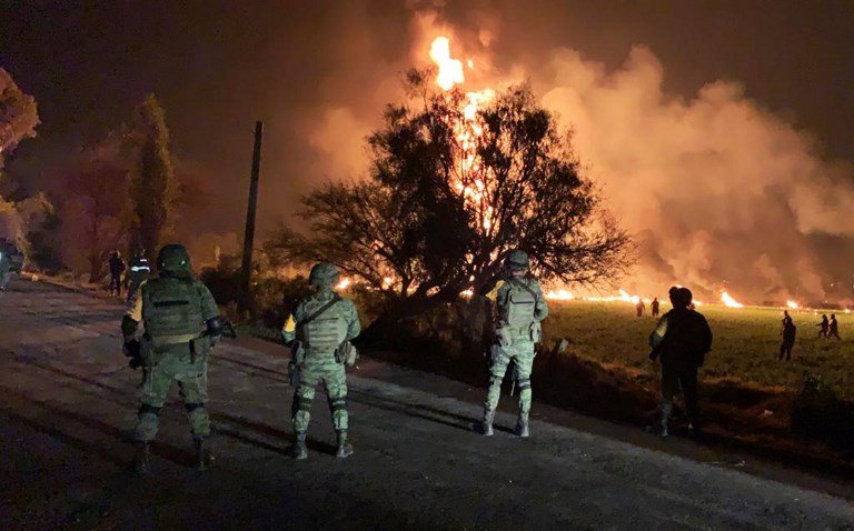 Death toll rises to 115 in Mexico pipeline fire