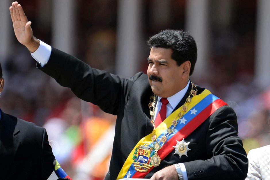 Maduro defiant as Venezuelan opposition leader declares himself acting president