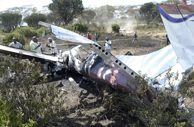 Kenya police: 5 dead including 3 Americans in plane crash