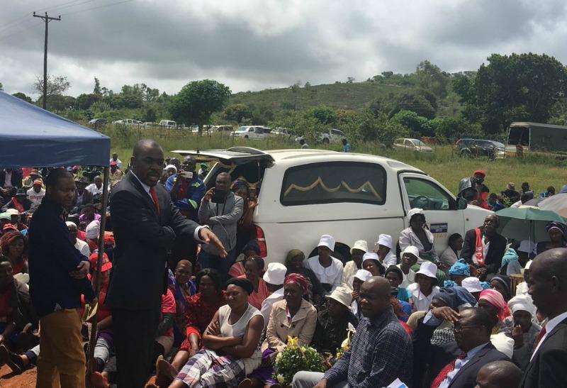 Chamisa abandons regional offensive for senior Mashakada's burial