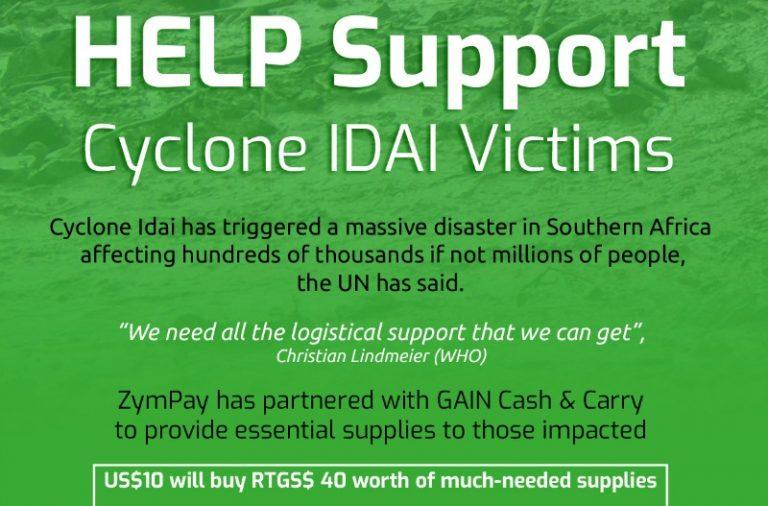 Cyclone Idai: Zympay cash, grocery initiative cuts unscrupulous middlemen